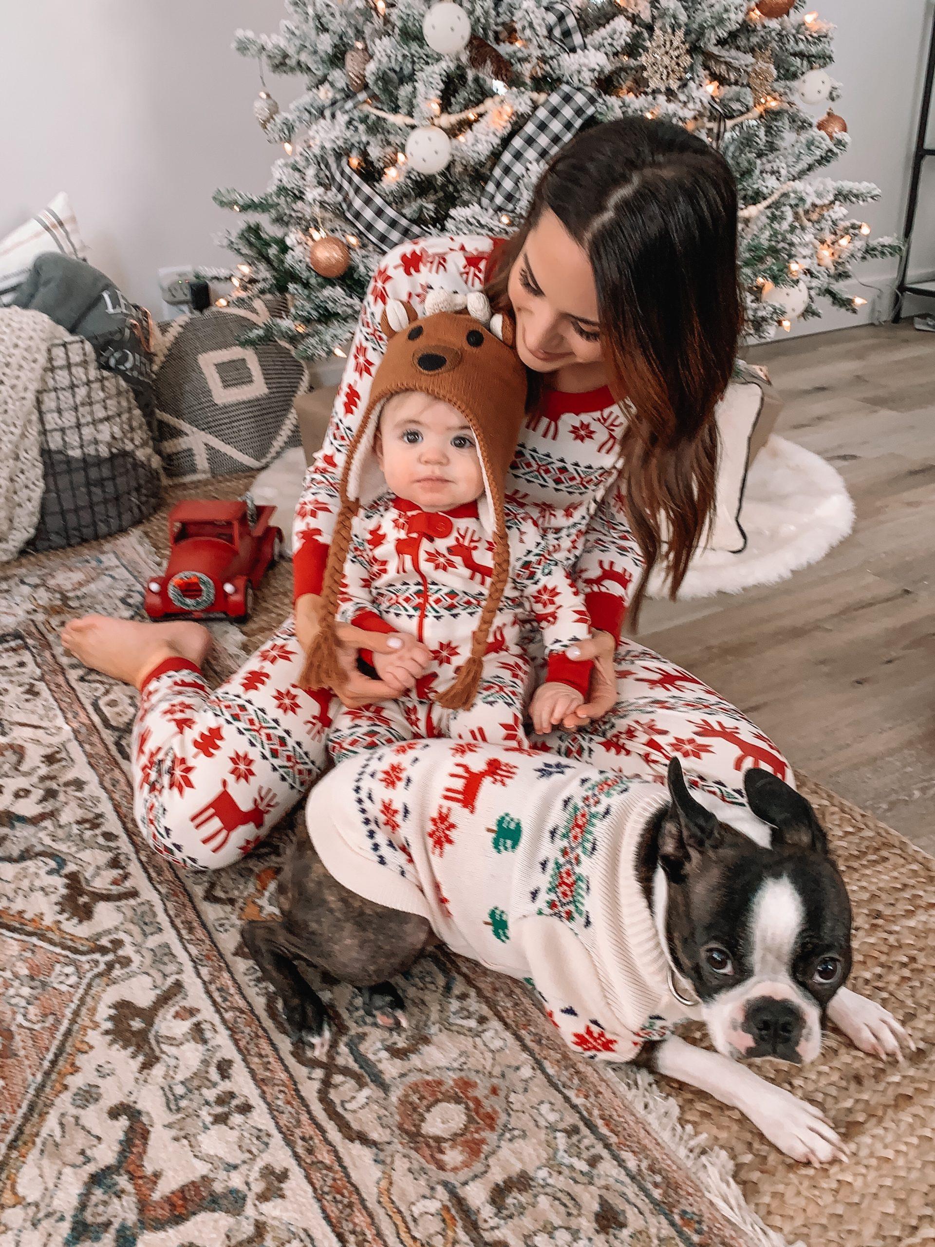 hanna Anderson matching family Christmas pajamas, new family Christmas traditions