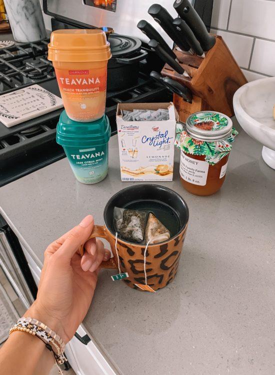 homemade medicine ball recipe, Starbucks, teavanna, cold buster
