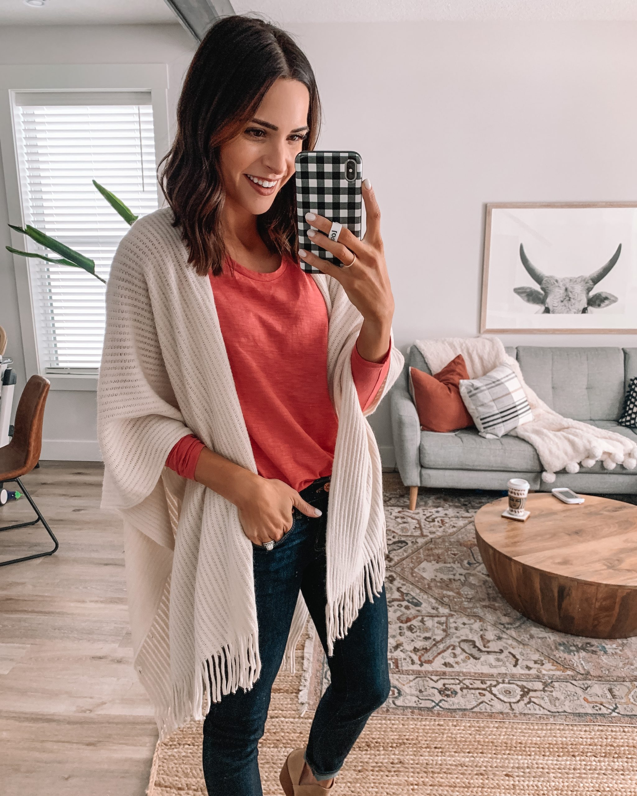 loft end of season sale 2020, fringe wrap