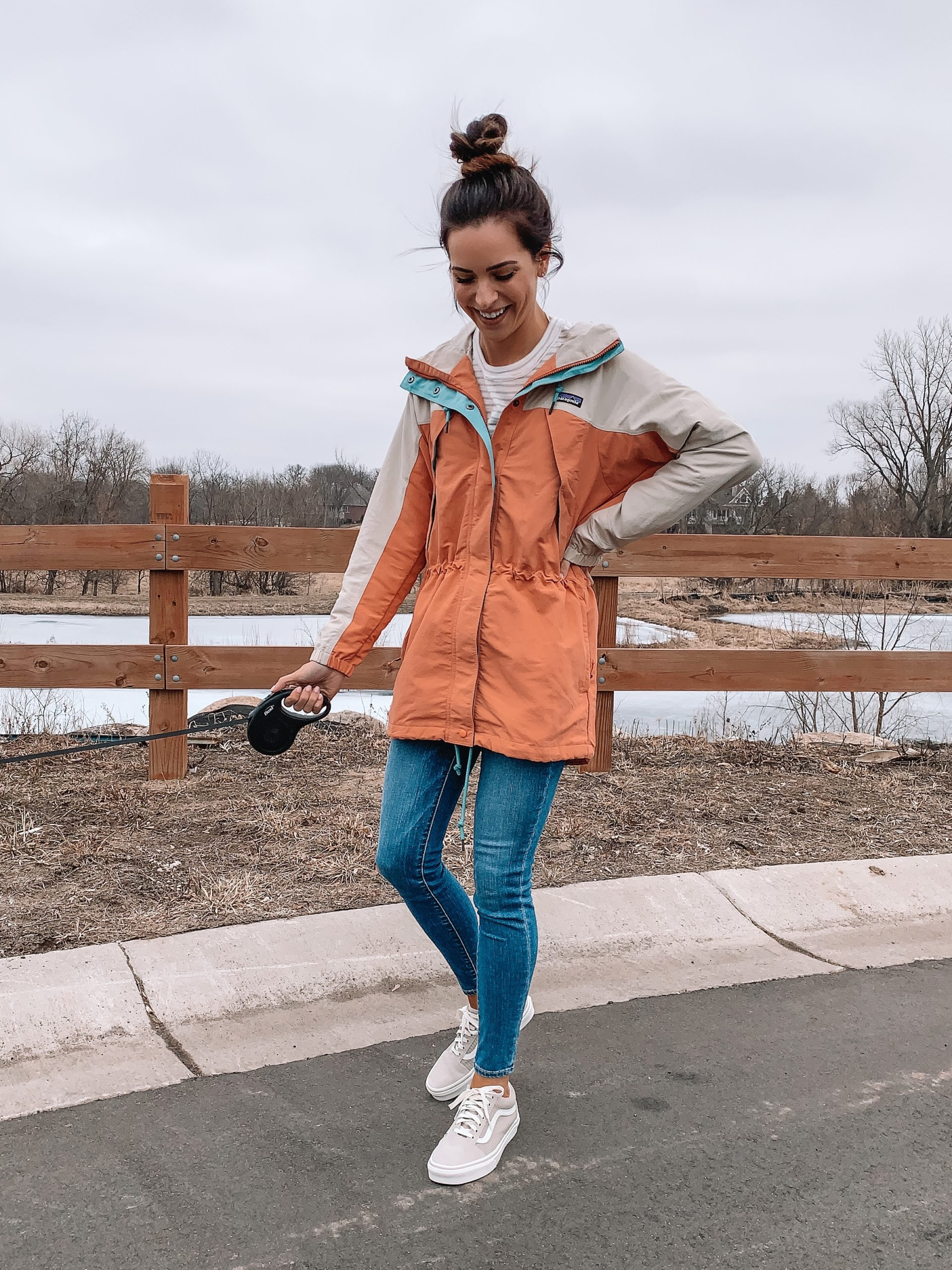 backcountry spring transitional jackets, Patagonia skyforest parka, vans old skool shoes womens, rain jacket, Minneapolis blogger, mn blogger