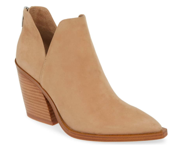 vince camuto, bootie