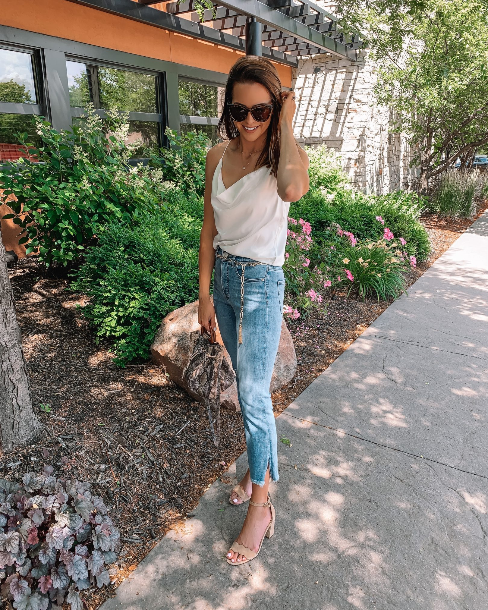 2020 summer date night outfit ideas, gno, girls night out, express outfit, minnesota blogger