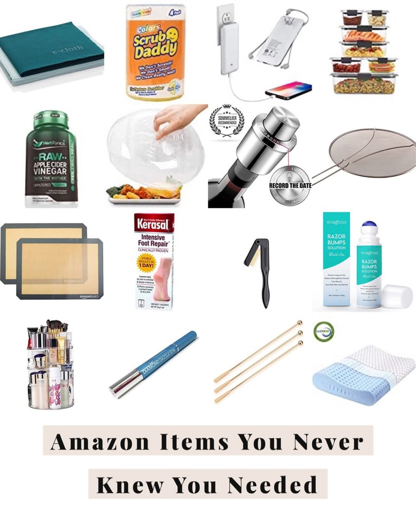amazon finds, amazon home, amazon kitchen, kitchen organization, amazon beauty finds, ring cleaner, side sleeper pillow, coffee stir sticks
