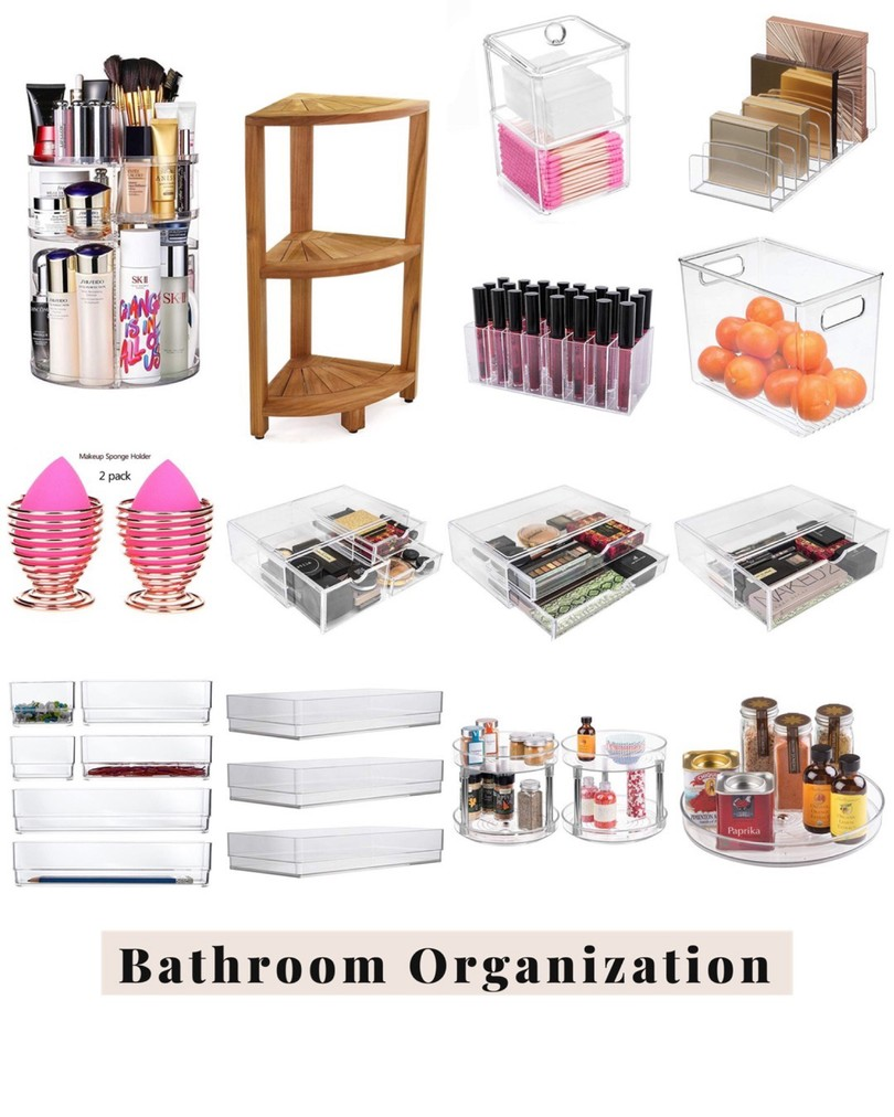 amazon finds, amazon home, amazon bathroom, bathroom organization