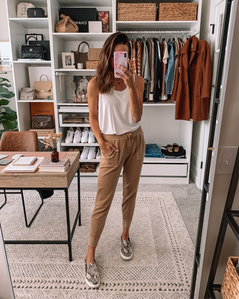 old navy haul 2020, fall old navy finds, camel joggers