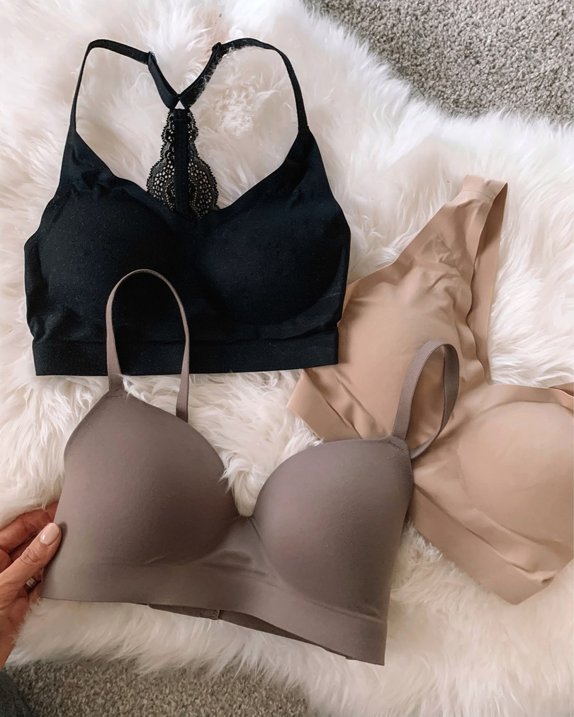 august top 10, the styled press, Taylor Brown, best sellers, top sellers, soma wireless bra, wireless bralette