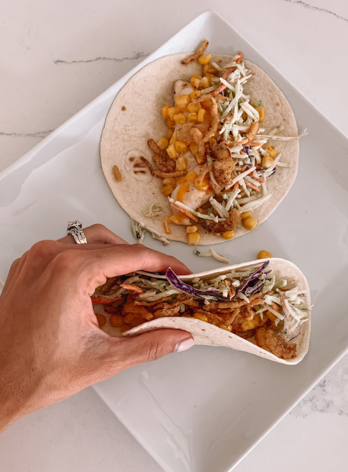 hot honey chicken tacos recipe, mike's hot honey recipes