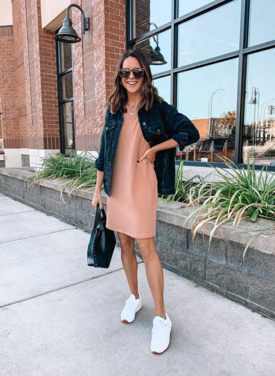 amazon finds, amazon fashion, amazon try on, sweatshirt dress