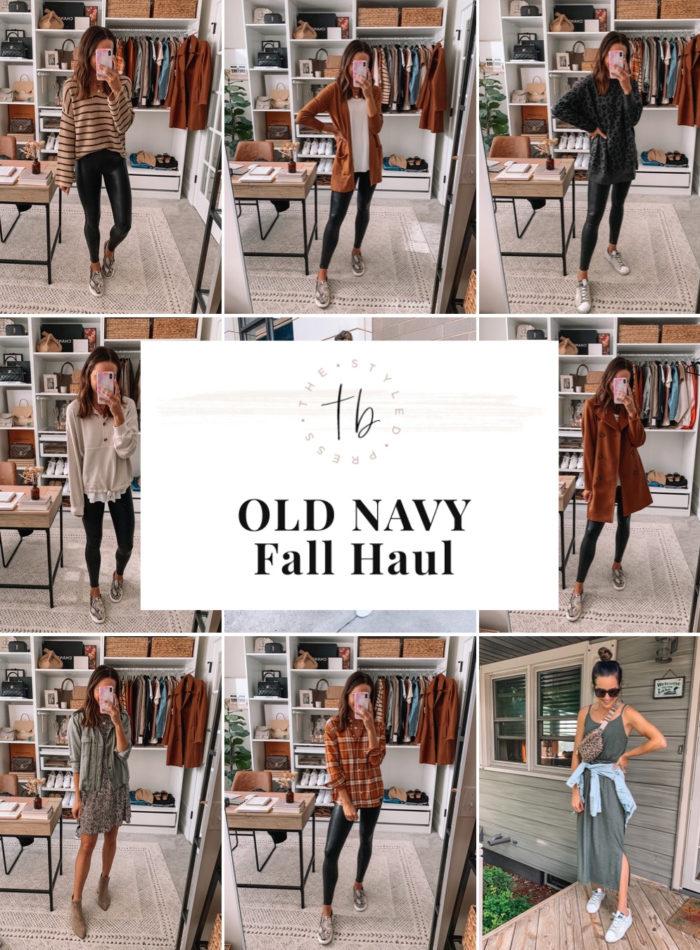 old navy fall haul 2020