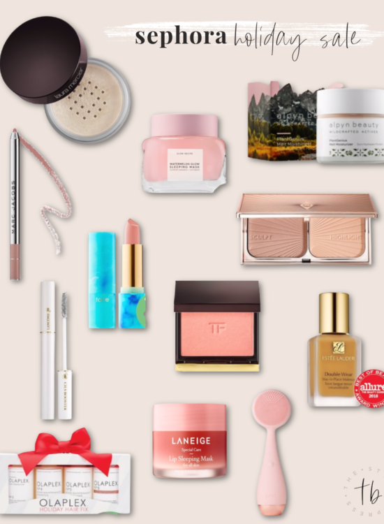 Sephora holiday savings event, Sephora favorites, Sephora best sellers