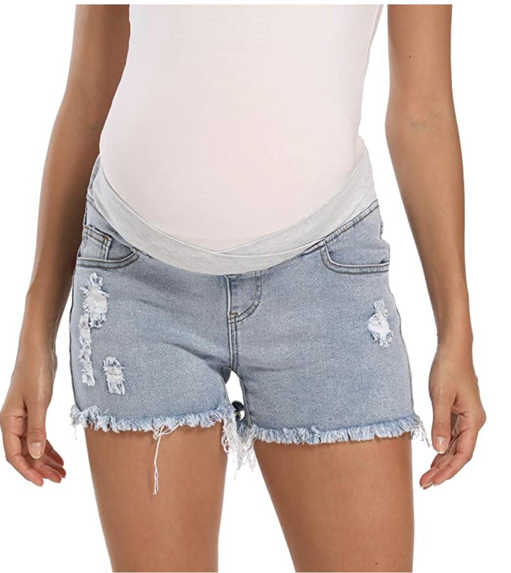 cute-maternity-shorts